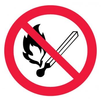 наклейка запрещающая
